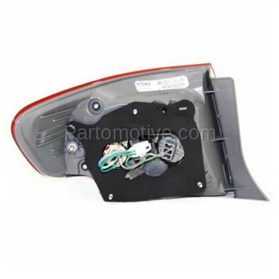 Aftermarket Auto Parts - TLT-1396RC CAPA 09-10 Toyota Corolla Taillamp Taillight Brake Light Lamp Passenger Side RH - Image 3