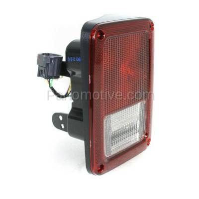 Aftermarket Auto Parts - TLT-1406RC CAPA 07-13 Wrangler Taillight Taillamp Rear Brake Light Lamp Passenger Side RH - Image 2