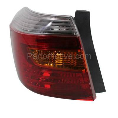 Aftermarket Auto Parts - TLT-1423LC CAPA 08-10 Highlander Sport Taillight Taillamp Rear Brake Light Lamp Driver Side - Image 1