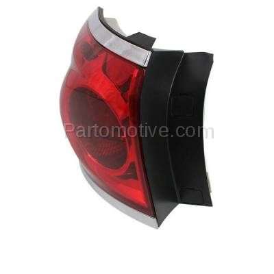 Aftermarket Auto Parts - TLT-1607LC CAPA 08-12 Buick Enclave Taillight Taillamp Rear Brake Light Lamp Driver Side L - Image 2