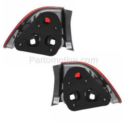 Aftermarket Auto Parts - TLT-1376LC & TLT-1376RC CAPA 09-11 Civic Sedan Taillight Taillamp Brake Light Lamp Left & Right Set PAIR - Image 3