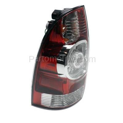 Aftermarket Auto Parts - TLT-1616LC CAPA 08-13 Tacoma Truck LED Taillight Taillamp Rear Brake Light Lamp Driver Side - Image 2