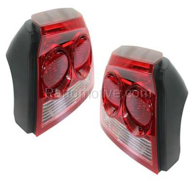 Aftermarket Auto Parts - TLT-1599LC & TLT-1599RC CAPA 09-10 Charger Taillight Taillamp Rear Brake Light Lamp Left Right Set PAIR - Image 2