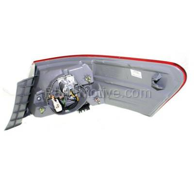 Aftermarket Auto Parts - TLT-1619LC CAPA 10-11 Camry Taillight Taillamp Rear Brake Outer Light Lamp Driver Side LH L - Image 3