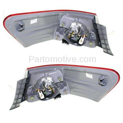 Aftermarket Auto Parts - TLT-1619LC & TLT-1619RC CAPA 10-11 Camry Taillight Taillamp Outer Brake Light Lamp Left & Right Set PAIR - Image 3