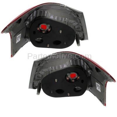 Aftermarket Auto Parts - TLT-1622LC & TLT-1622RC CAPA 07-11 Yaris S Sedan Taillight Taillamp Brake Light Lamp Left Right Set PAIR - Image 3