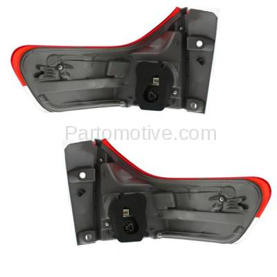 Aftermarket Auto Parts - TLT-1630LC & TLT-1630RC CAPA 11-13 Sienna Taillight Taillamp Brake Outer Light Lamp Left Right Set PAIR - Image 3