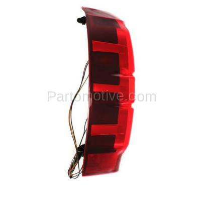 Aftermarket Auto Parts - TLT-1371LC CAPA 07-13 Chevy Avalanche Taillight Taillamp Rear Brake Light Lamp Driver Side - Image 2