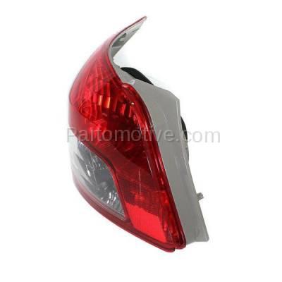 Aftermarket Auto Parts - TLT-1622LC CAPA 07-11 Yaris S Sedan Taillight Taillamp Rear Brake Light Lamp Driver Side LH - Image 2
