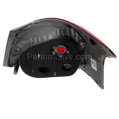 Aftermarket Auto Parts - TLT-1622LC CAPA 07-11 Yaris S Sedan Taillight Taillamp Rear Brake Light Lamp Driver Side LH - Image 3