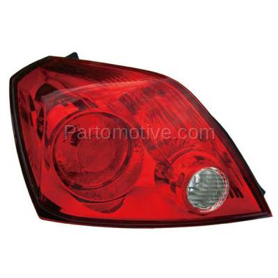 Aftermarket Auto Parts - TLT-1385LC CAPA Taillight Taillamp Rear Brake Light Lamp Driver Side For 08-13 Altima Coupe - Image 1