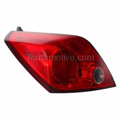 Aftermarket Auto Parts - TLT-1385LC CAPA Taillight Taillamp Rear Brake Light Lamp Driver Side For 08-13 Altima Coupe - Image 2
