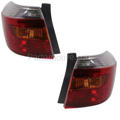 Aftermarket Auto Parts - TLT-1423LC & TLT-1423RC CAPA 08-10 Highlander Sport Taillight Taillamp Brake Light Lamp Left & Right Set - Image 1