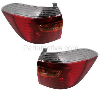 Aftermarket Auto Parts - TLT-1423LC & TLT-1423RC CAPA 08-10 Highlander Sport Taillight Taillamp Brake Light Lamp Left & Right Set - Image 2