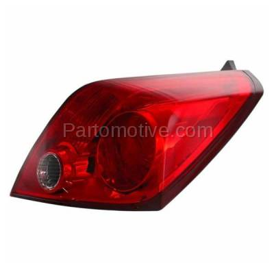 Aftermarket Auto Parts - TLT-1385RC CAPA Taillight Taillamp Rear Brake Light Passenger Side For 08-13 Altima Coupe - Image 2