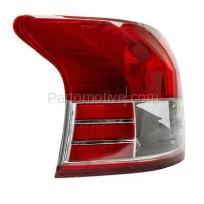 Aftermarket Auto Parts - TLT-1328LC CAPA 06-12 Yaris Sedan Taillight Taillamp Rear Brake Light Lamp Driver Side LH - Image 2