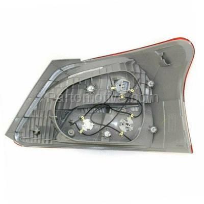 Aftermarket Auto Parts - TLT-1328LC CAPA 06-12 Yaris Sedan Taillight Taillamp Rear Brake Light Lamp Driver Side LH - Image 3