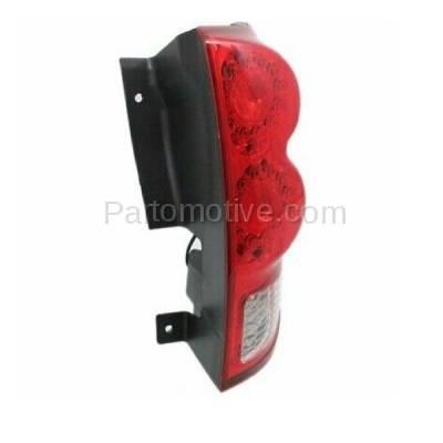 Aftermarket Replacement - TLT-1597R 11-13 GR. Caravan Taillight Taillamp LED Brake Light Lamp Right Passenger Side R - Image 2