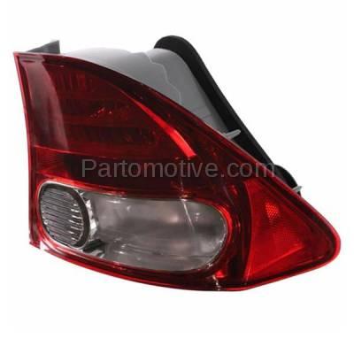 Aftermarket Replacement - TLT-1376R 09-11 Civic Sedan Taillight Taillamp Rear Brake Light Lamp Right Passenger Side - Image 2