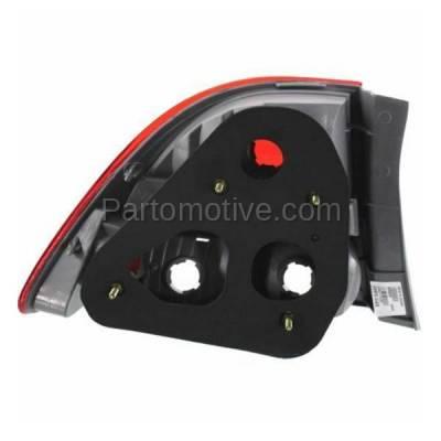 Aftermarket Replacement - TLT-1376R 09-11 Civic Sedan Taillight Taillamp Rear Brake Light Lamp Right Passenger Side - Image 3