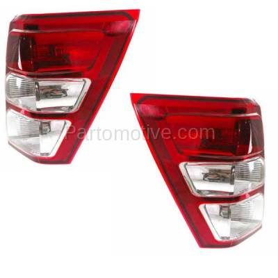 Aftermarket Replacement - TLT-1377L & TLT-1377R 06-12 Grand Vitara Taillight Taillamp Brake Light Lamp Left Right Side Set PAIR - Image 2