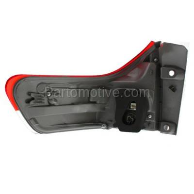 Aftermarket Auto Parts - TLT-1630RC CAPA 11-13 Sienna Taillight Taillamp Rear Brake Outer Light Lamp Passenger Side - Image 3