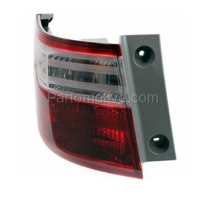 Aftermarket Auto Parts - TLT-1638LC CAPA 11-13 Odyssey Taillight Taillamp Rear Brake Light Outer Lamp Driver Side LH - Image 2
