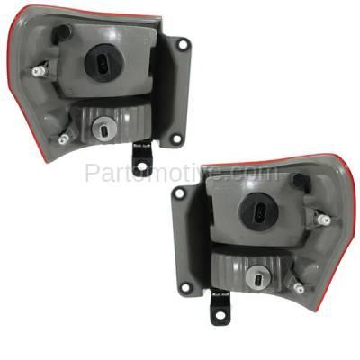Aftermarket Auto Parts - TLT-1643LC & TLT-1643RC CAPA 11-13 GR. Cherokee Taillight Taillamp Brake Light Lamp Left Right Set PAIR - Image 3