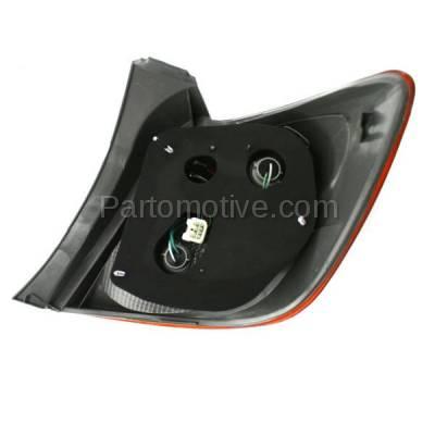 Aftermarket Auto Parts - TLT-1605LC CAPA 09-13 Toyota Matrix Taillight Taillamp Rear Brake Light Lamp Driver Side LH - Image 3
