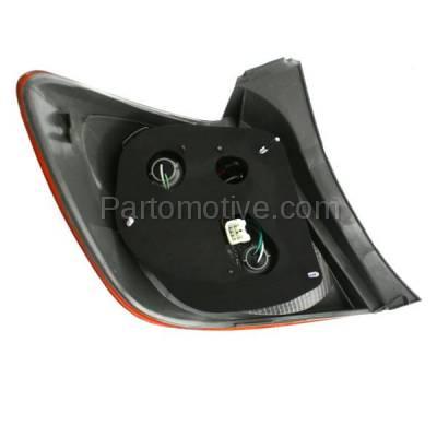 Aftermarket Auto Parts - TLT-1605RC CAPA 09-13 Matrix Taillight Taillamp Rear Brake Light Lamp Passenger Side RH R - Image 3