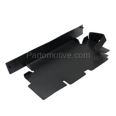 Aftermarket Replacement - RSP-1292R 2007-2013 GMC Sierra Pickup Truck 1500 & 2007-2014 Sierra 2500HD/3500HD Front Radiator Support Baffle Panel Plastic Passenger Side - Image 2