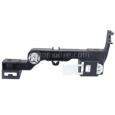 Aftermarket Replacement - RSP-1128L 2009-2018 Dodge Ram 1500 & 2010-2018 Ram 2500/3500 Pickup Truck Front Radiator Support Headlight Mounting Bracket Plastic Left Driver Side - Image 1