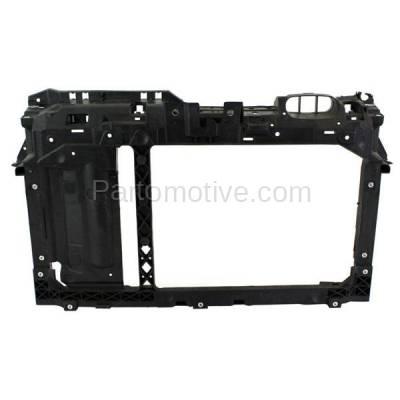 Aftermarket Replacement - RSP-1192 2011-2018 Ford Fiesta (S, SE, SEL, SES, Titanium) 1.6L (Hatchback & Sedan) Front Center Radiator Support Core Assembly Primed Plastic - Image 1
