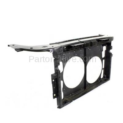 Aftermarket Replacement - RSP-1193 2005-2007 Ford Five Hundred & Mercury Montego (Sedan 4-Door) 3.0L Front Center Radiator Support Core Assembly Primed Steel - Image 3