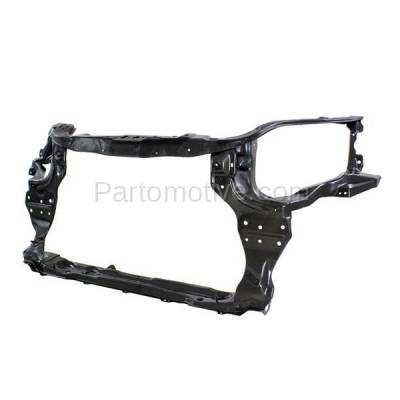 Aftermarket Replacement - RSP-1233 2007-2008 Chevrolet Aveo (Base, LS, LT) 4-Door Sedan (1.6L) Front Center Radiator Support Core Assembly Primed Made of Steel - Image 2