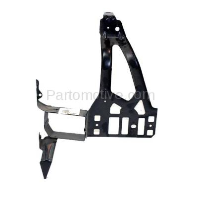 Aftermarket Replacement - RSP-1044L 2004-2010 BMW 5-Series (Sedan & Wagon 4-Door) Front Radiator Support Core Bracket Panel Primed Made of Steel Left Driver Side - Image 2