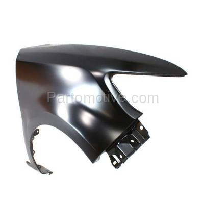 Aftermarket Replacement - FDR-1828R 2008-2015 Scion xB (Wagon 4-Door) (2.4 Liter 4Cyl Engine) Front Fender Quarter Panel (without Molding Holes) Steel Right Passenger Side - Image 2