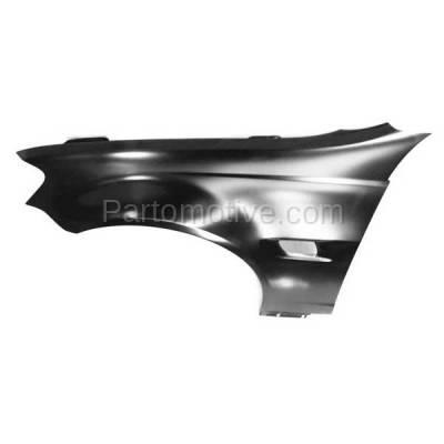 Aftermarket Replacement - FDR-1352L 2008-2009 Pontiac G8 (V6/V8 Engine) (USA Built Models) Front Fender Quarter Panel (with Turn Signal Light Hole) Left Driver Side - Image 3