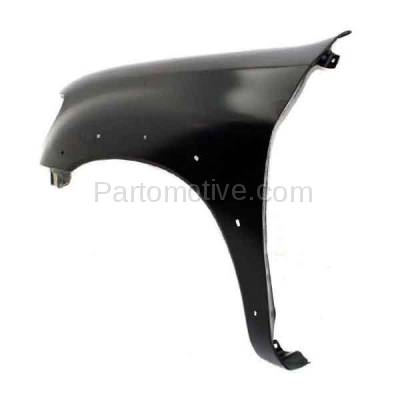 Aftermarket Replacement - FDR-1787L 2000-2006 Toyota Tundra Pickup Truck (excluding Double Crew Cab) Front Fender (with Flare Holes) Primed Steel Left Driver Side - Image 3