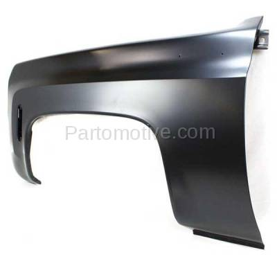 Aftermarket Replacement - FDR-1341L 1973-1980 Chevy/GMC C/K-Series Full Size Pickup Truck & Blazer/Jimmy/Suburban Front Fender Quarter Panel Steel Left Driver Side - Image 3