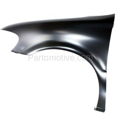 Aftermarket Replacement - FDR-1795L 1997-2005 Chevrolet Venture & Pontiac Montana, Trans Sport & Oldsmobile Silhouette (3.4L 3.5L) Front Fender Primed Steel Left Driver Side - Image 1