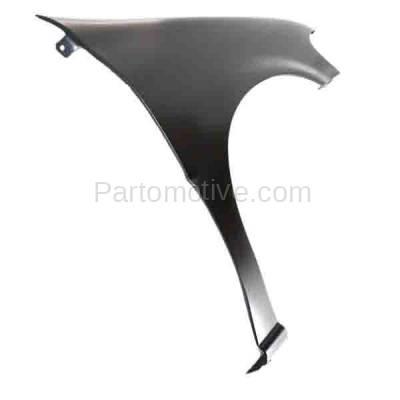 Aftermarket Replacement - FDR-1795R 1997-2005 Chevrolet Venture & Pontiac Montana, Trans Sport & Oldsmobile Silhouette (3.4L 3.5L) Front Fender Primed Steel Right Passenger Side - Image 2