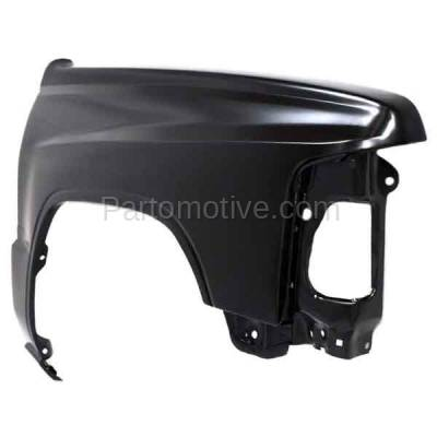 Aftermarket Replacement - FDR-1769R 1984-1988 Toyota Pickup Truck RWD (4Cyl 6Cyl, 2.4L 3.0L Engine) Front Fender Quarter Panel Primed Steel Right Passenger Side - Image 2