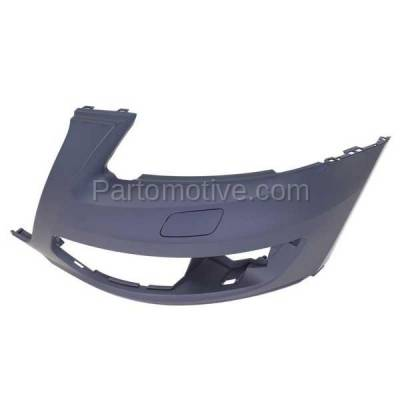 Aftermarket Replacement - BUC-1058FC CAPA 09-12 Q5 Front Bumper Cover Assy Left Driver Side AU1016100 8R0807107AGRU - Image 2