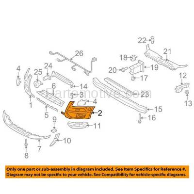 Aftermarket Replacement - BUC-1058FC CAPA 09-12 Q5 Front Bumper Cover Assy Left Driver Side AU1016100 8R0807107AGRU - Image 3