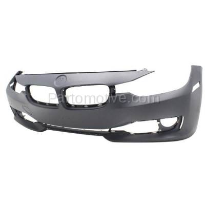 Aftermarket Replacement - BUC-1176FC CAPA 12-15 3-Series Front Bumper Cover Assy w/o M Package BM1000276 51117293085 - Image 2