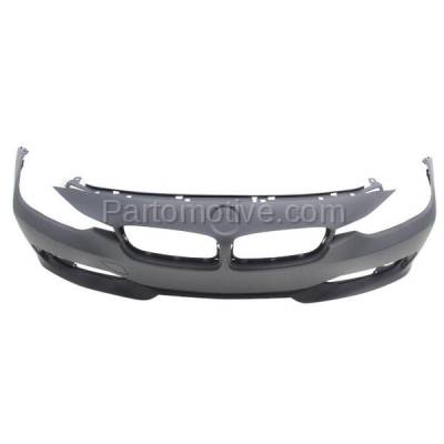 Aftermarket Replacement - BUC-1176FC CAPA 12-15 3-Series Front Bumper Cover Assy w/o M Package BM1000276 51117293085 - Image 3