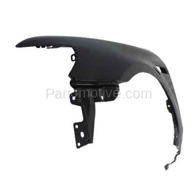 Aftermarket Replacement - FDR-1746LC CAPA 2008 2009 Ford Taurus (Limited, SE, SEL) Front Fender Quarter Panel (with Applique Provision) Primed Steel Left Driver Side - Image 2