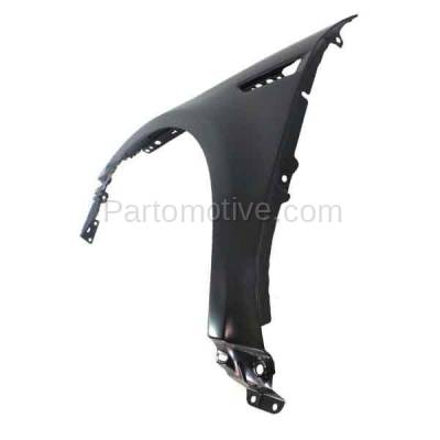 Aftermarket Replacement - FDR-1746LC CAPA 2008 2009 Ford Taurus (Limited, SE, SEL) Front Fender Quarter Panel (with Applique Provision) Primed Steel Left Driver Side - Image 3