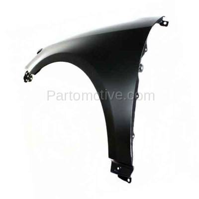 Aftermarket Replacement - FDR-1749LC CAPA 2011-2016 Scion tC (2-Door Coupe) 2.5L Front Fender Quarter Panel (without Molding Holes) Primed Steel Left Driver Side - Image 3